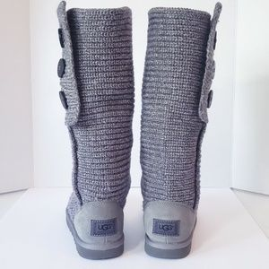 UGG S/N 5819 Gray Australia Cardy Knit Gray